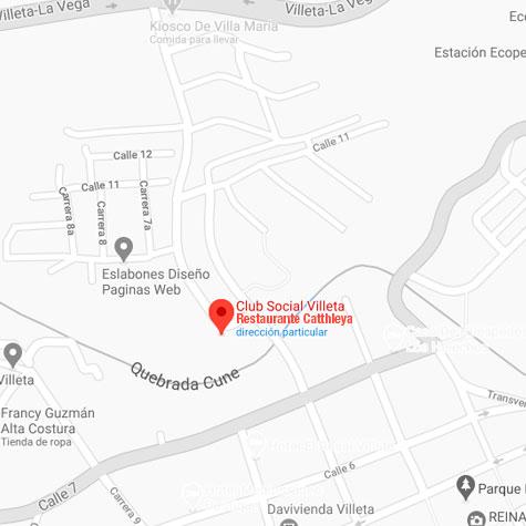 Club Social Catthleya Map Cuadrado